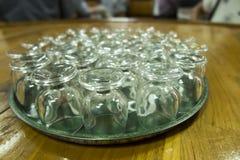 Exponeringsglas vände uppochnervänd dnwm royaltyfri foto