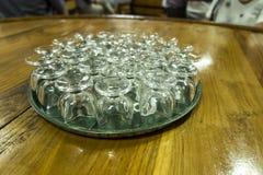 Exponeringsglas vände uppochnervänd dnwm royaltyfria bilder