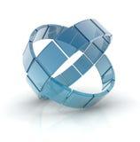 Exponeringsglascirklar Arkivbilder