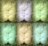 exponeringsglasgrungeillustration royaltyfri illustrationer
