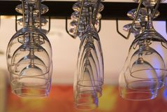 exponeringsglashållarewine Arkivfoton