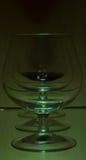 exponeringsglasklartecken tre Arkivfoto