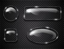 Exponeringsglasknappar Arkivbild