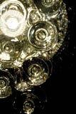 exponeringsglaslampor Arkivfoton