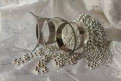 exponeringsglaspärlor Arkivfoto