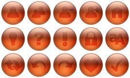 exponeringsglasset för 3 knapp Fotografering för Bildbyråer