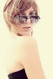 exponeringsglassunkvinna Royaltyfri Bild
