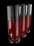 exponeringsglaswine Arkivbild