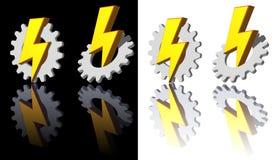 exponeringskugghjul stock illustrationer