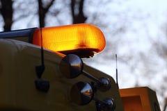 exponeringslampa - yellow arkivfoto
