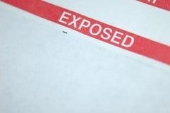 Expor! Imagem de Stock Royalty Free