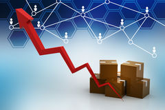 Export growth concept Royalty Free Stock Photos