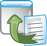Export Icon Stock Image