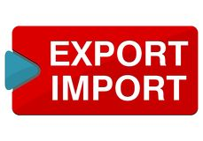 Export Import button Stock Photos