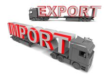 Export import trade concept Stock Photography