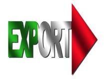 export italian text 免版税图库摄影