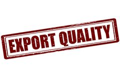 Export quality. Rubber stamp with text export quality inside,  illustration Royalty Free Stock Photography