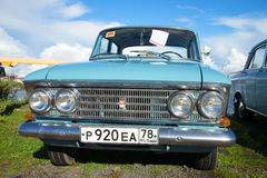 Export version of the Soviet car Moskvich-408 1967 edition of the parade of retro cars Stock Image