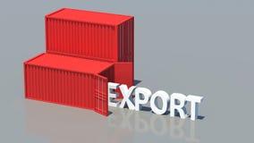 exportação Imagem de Stock Royalty Free
