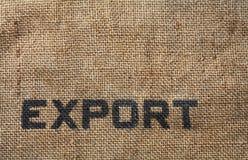 Exportación Imágenes de archivo libres de regalías