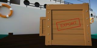 exportación Imagen de archivo libre de regalías