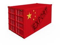 Exportación de China Foto de archivo libre de regalías