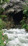 Exportación subterráneo del río Fotografía de archivo libre de regalías