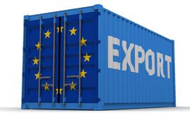 Exports of the European Union Royalty Free Stock Photography