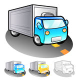 Exports of goods Illustration. Product and Distribution System D Royalty Free Stock Photography