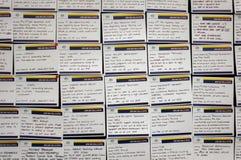 Expos de los trabajos y de las habilidades Imagen de archivo libre de regalías