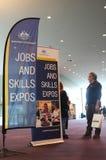 Expos des travaux et de qualifications Photos stock