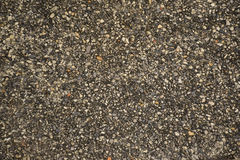 Exposed aggregate concrete surface Royalty Free Stock Photos