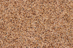 Exposed aggregate concrete texture background Royalty Free Stock Photo
