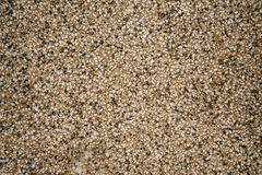 Exposed aggregate finish on the floor Royalty Free Stock Photo