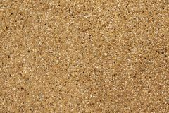 Exposed aggregate finish. Washed sand. Texture and background royalty free stock images