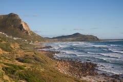 Exposed Atlantic shoreline. An exposed, rocky mountainous, coastal shoreline Stock Images