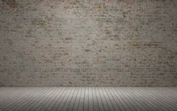 Exposed brick wall Stock Images