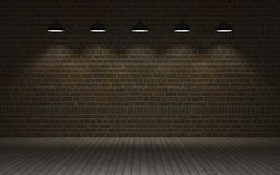 Exposed brick wall Stock Photo