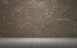 Exposed brick wall Stock Photos