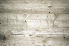 Exposed Concrete with Wood Texture Stock Image