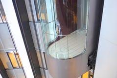 Exposed elevators Stock Photo