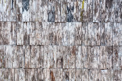 Exposed old wooden wall exterior stock photos