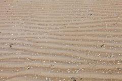 Exposed ridges on the ocean floor Stock Image