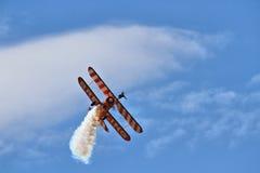 Exposição Aerobatic pelo Breitling Wingwalkers Imagem de Stock