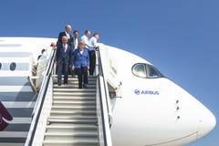 Exposição aeroespacial internacional ILA Berlin Air Show-2014 Foto de Stock Royalty Free