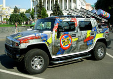 Exposição automóvel Imagens de Stock Royalty Free