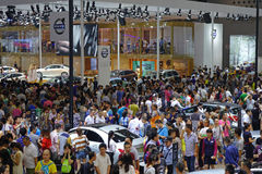 17a exposição automóvel de Chengdu Imagens de Stock