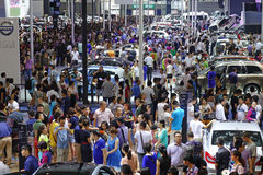 17a exposição automóvel de Chengdu Fotografia de Stock Royalty Free