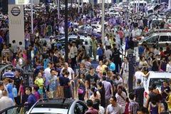 17a exposição automóvel de Chengdu Fotografia de Stock