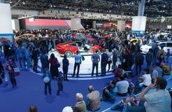 Exposição automóvel internacional 2012 de Moscou imagens de stock royalty free